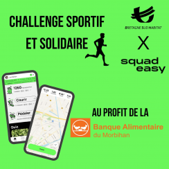 Challenge sportif & solidaire SquadEasy